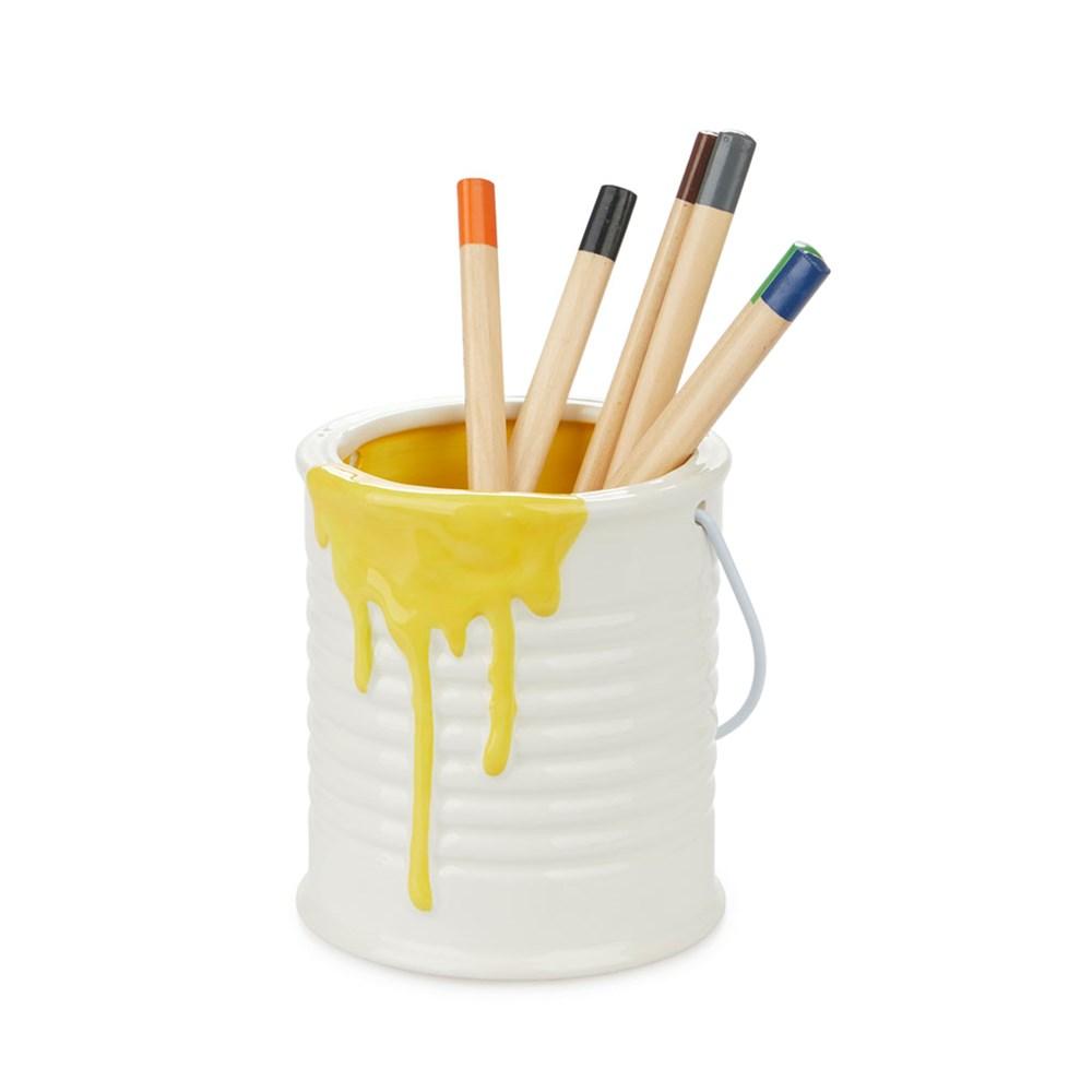 Pennenhouder,Panty,geel