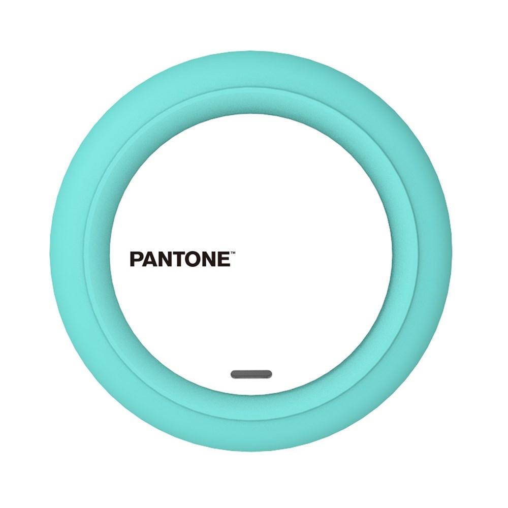 Draadloze oplader,Pantone,turquoise