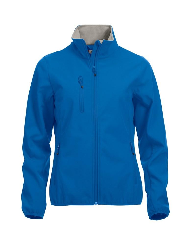 Clique Basic Softshell Jacket Ladies kobalt xs