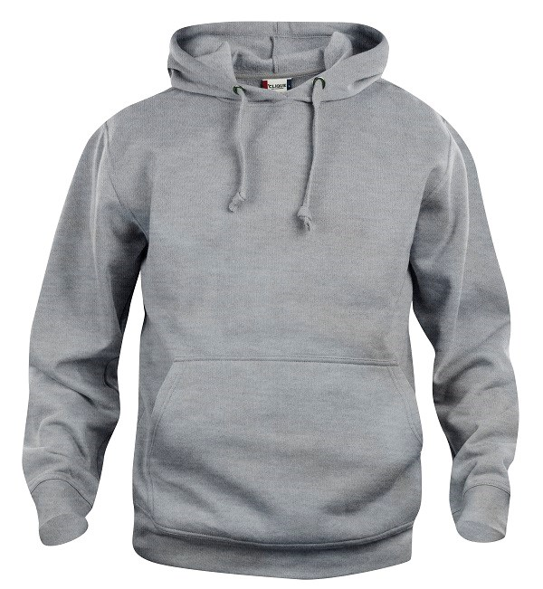 Clique Basic Hoody grijsmelange 5xl