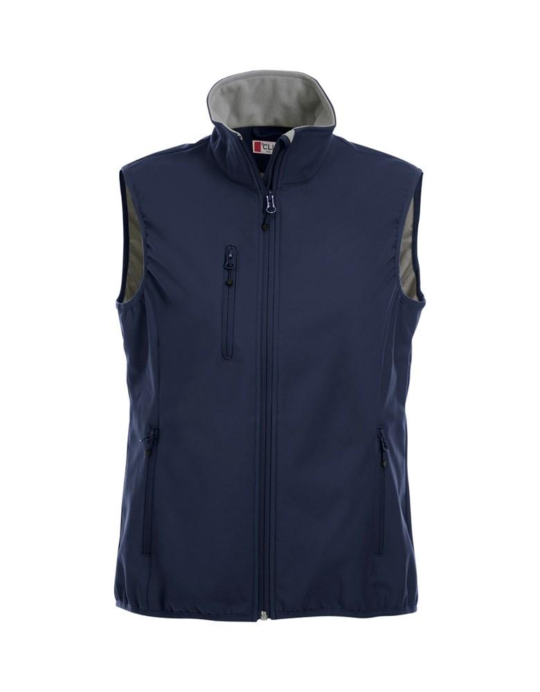 Clique Basic Softshell Vest Ladies dark navy xs