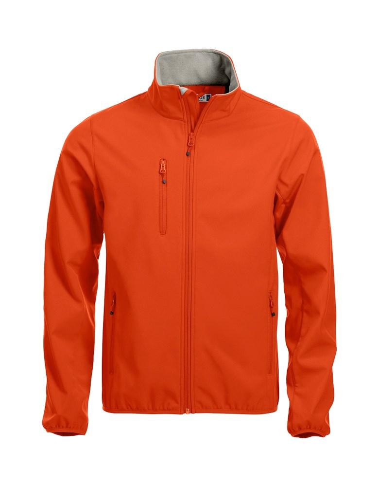 Clique Basic Softshell Jacket dieporanje xs