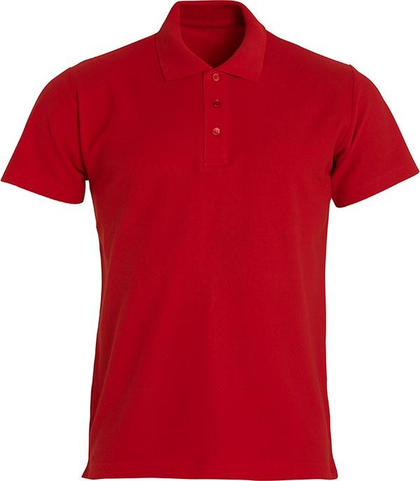 Clique Basic Polo rood xl