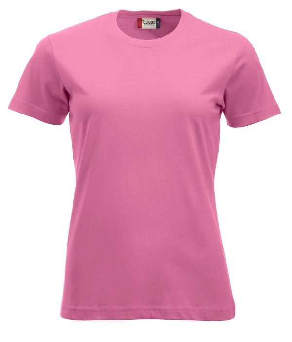 Clique New Classic-T Ladies helder roze xs