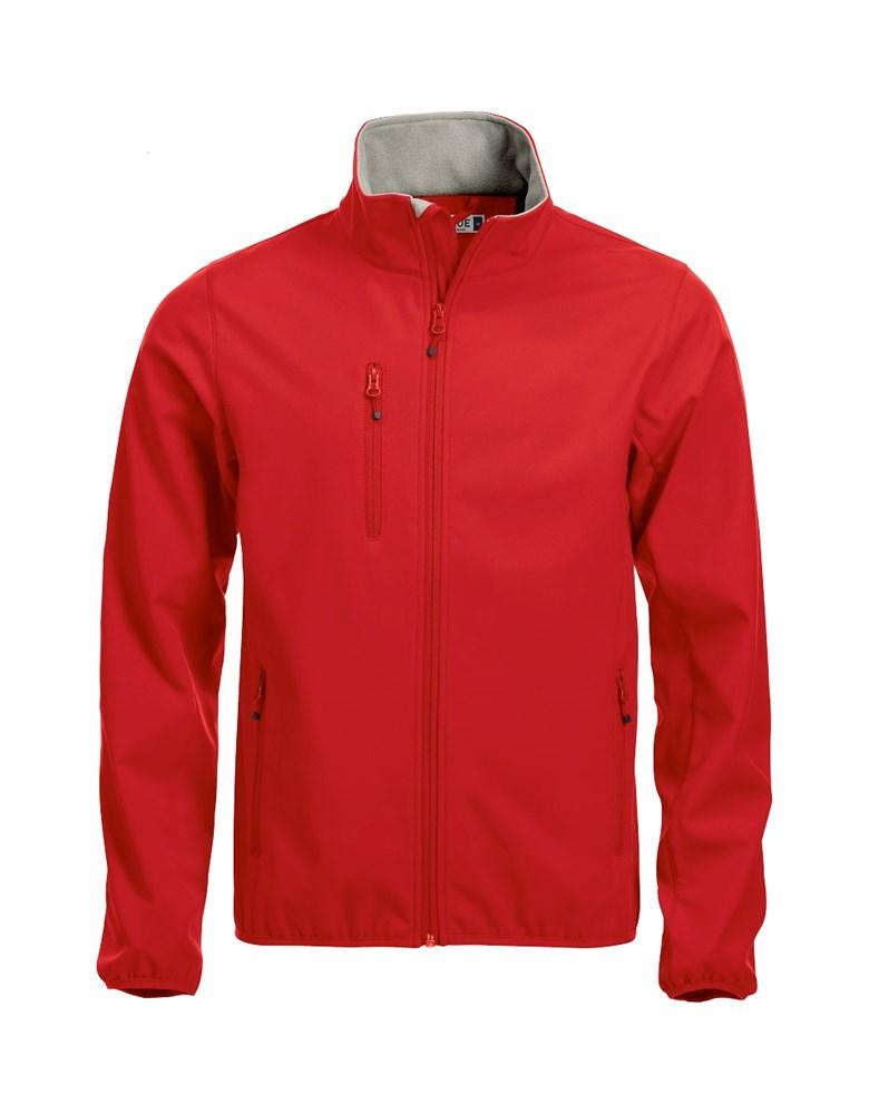 Clique Basic Softshell Jacket rood m