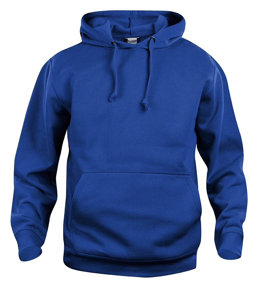 Clique Basic Hoody blauw xs