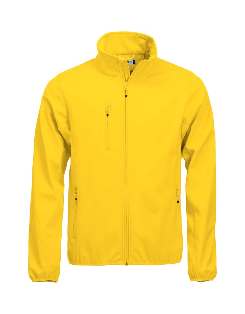 Clique Basic Softshell Jacket lemon l