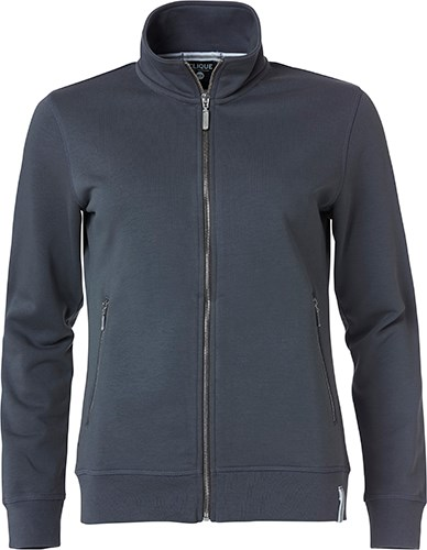Clique Classic FT Jacket Ladies grijs xs