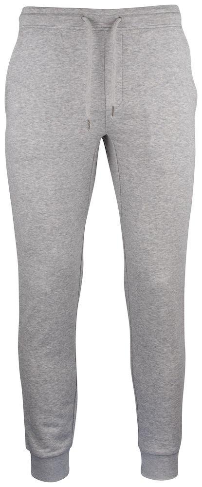 Clique Premium OC Pants grijsmelange l