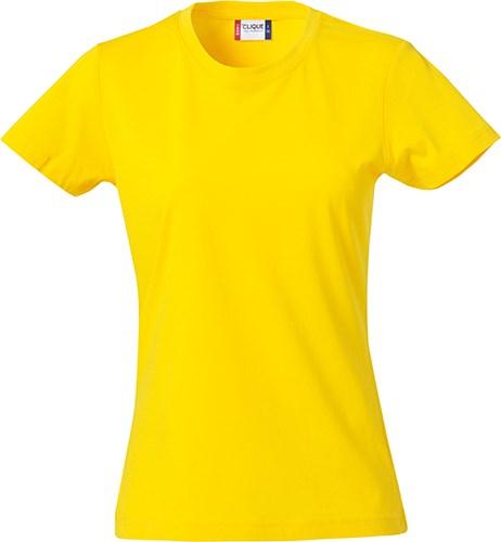 Clique Basic-T Ladies lemon s