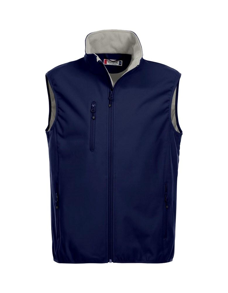 Clique Basic Softshell Vest dark navy l