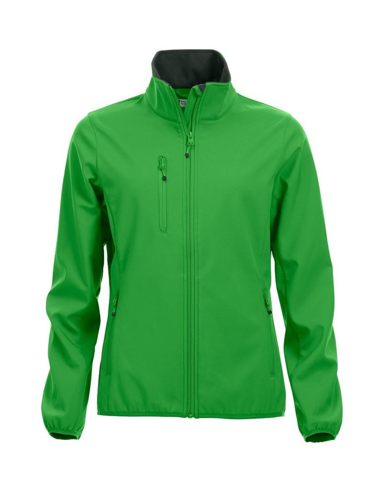 Clique Basic Softshell Jacket Ladies appelgroen xl