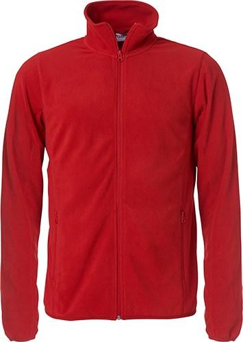 Clique Basic Micro Fleece Jacket rood m
