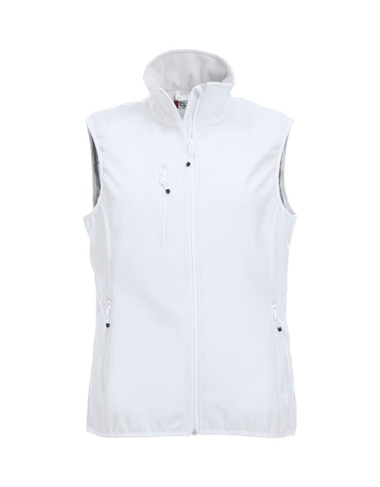 Clique Basic Softshell Vest Ladies wit xs