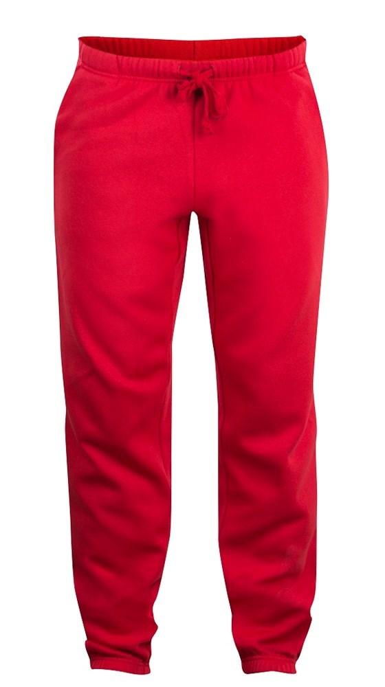 Clique Basic Pants Junior rood 90/100