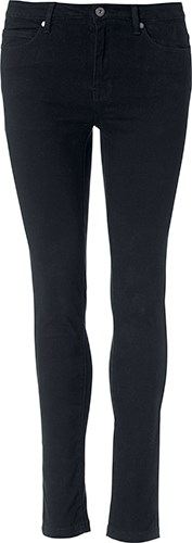 Clique 5-Pocket Stretch Ladies zwart xxl