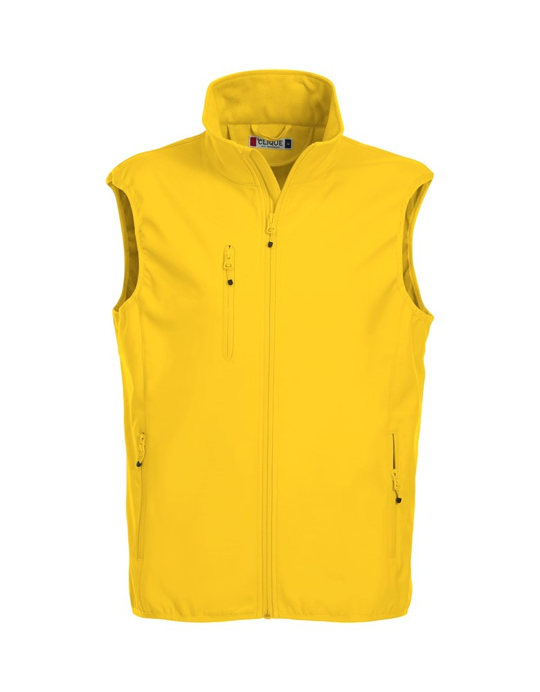 Clique Basic Softshell Vest lemon xl
