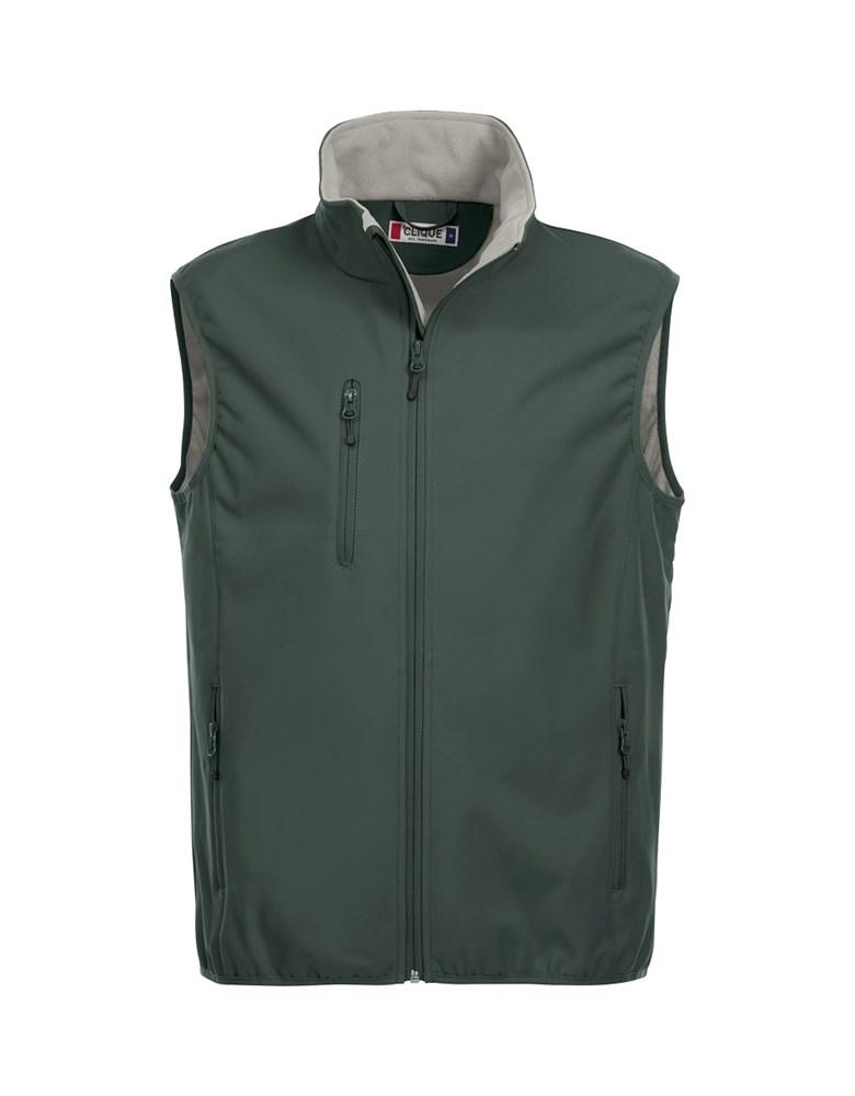 Clique Basic Softshell Vest pistol m
