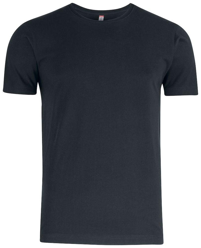 Clique Premium Fashion-T zwart s