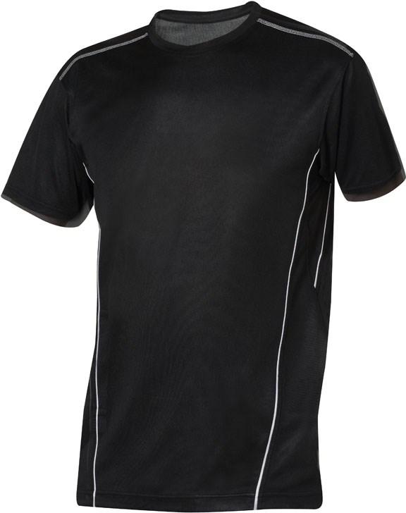 Clique Ice Sport-T zwart/wit s