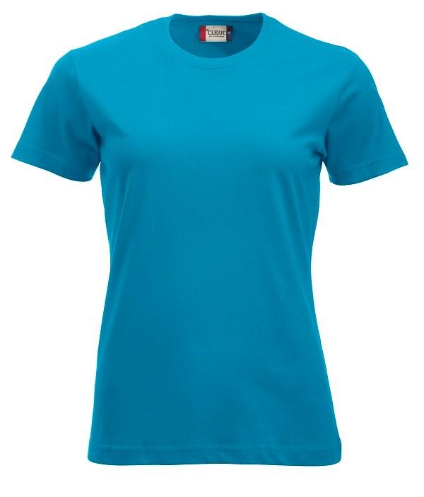 Clique New Classic-T Ladies turquoise xl