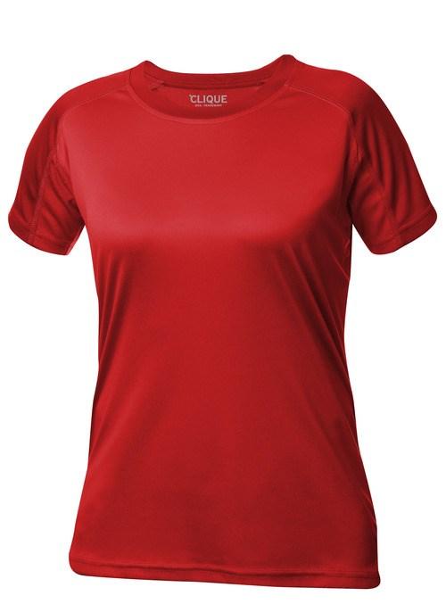 Clique Premium Active-T Ladies rood xl
