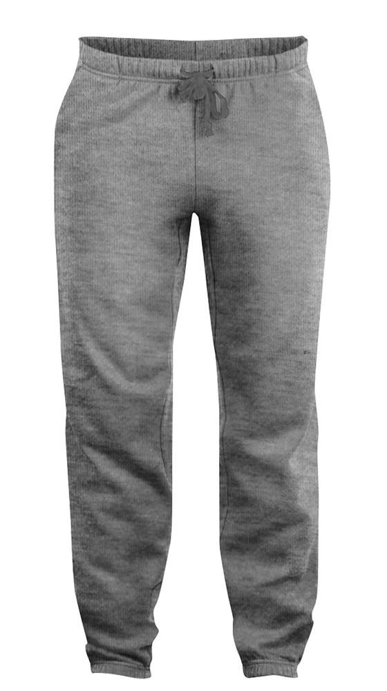Clique Basic Pants grijsmelange xs