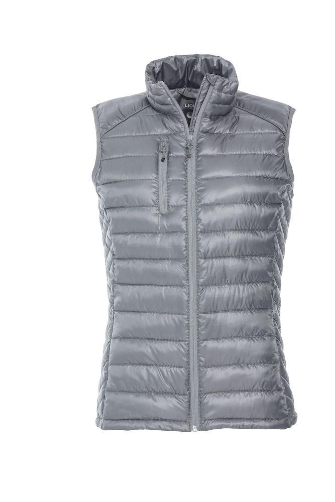 Clique Hudson Vest Ladies grijs m