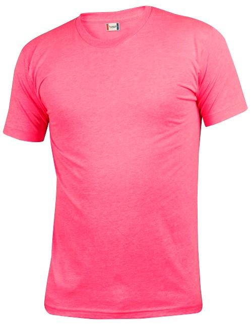 Clique Neon-T neon roze s