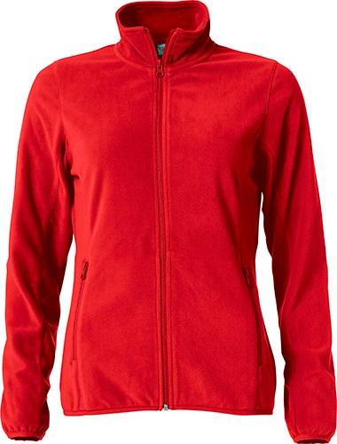 Clique Basic Micro Fleece Jacket Ladies rood xl