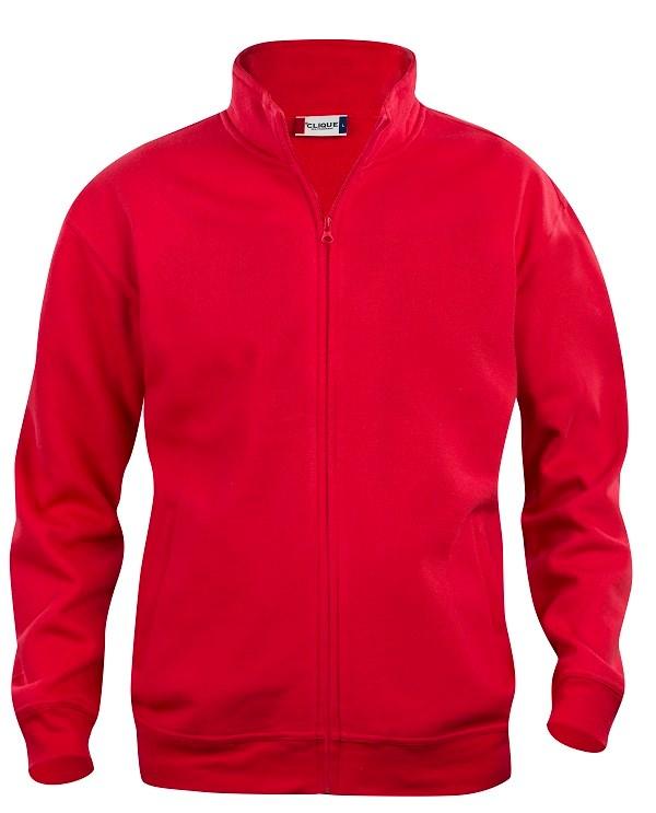 Clique Basic Cardigan Junior rood 130/140