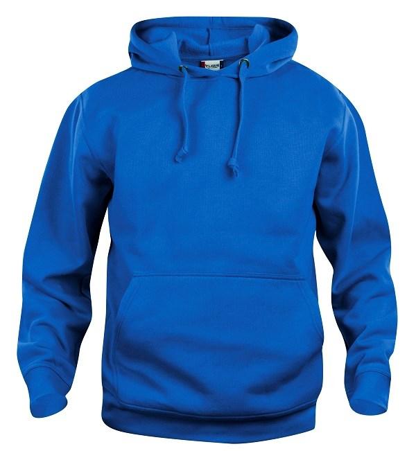 Clique Basic Hoody kobalt xs