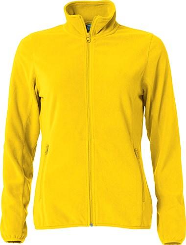 Clique Basic Micro Fleece Jacket Ladies lemon l