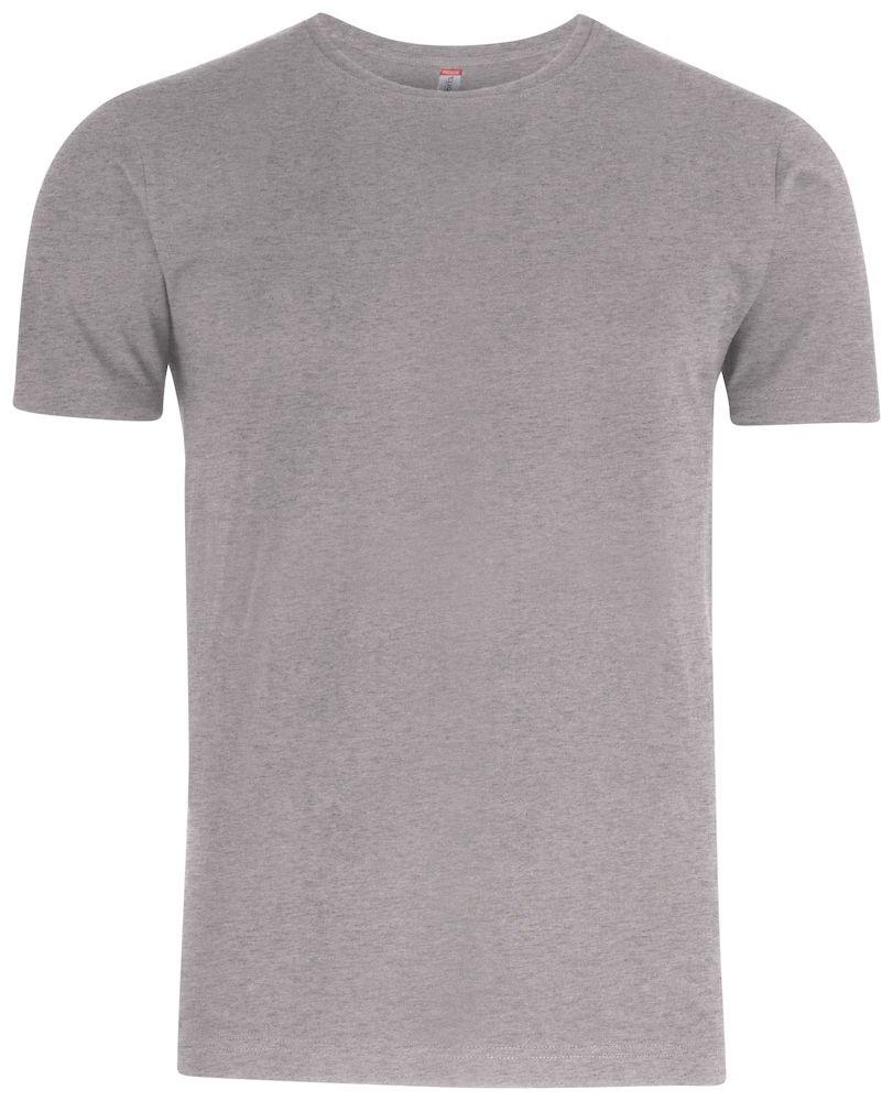 Clique Premium Fashion-T grijsmelange s