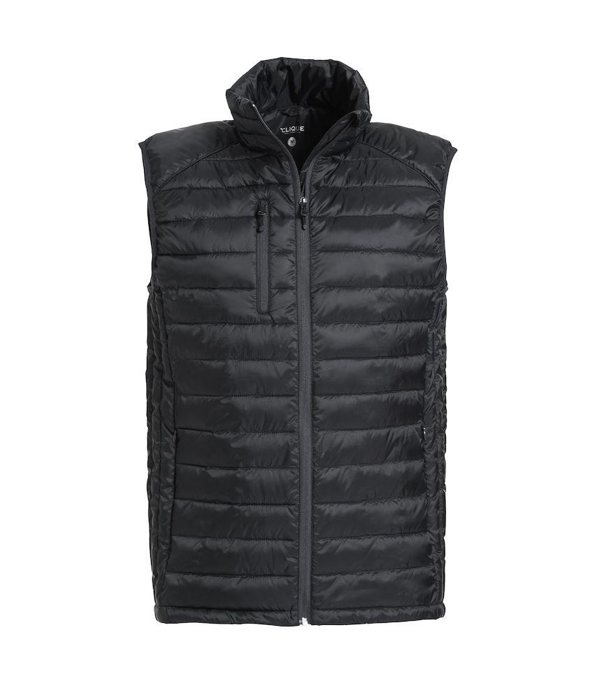 Clique Hudson Vest zwart xl