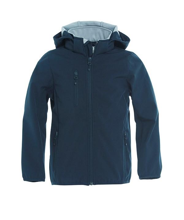 Clique Basic Softshell Jacket Junior dark navy 150/160
