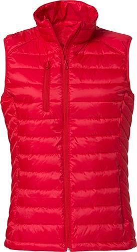 Clique Hudson Vest Ladies rood m