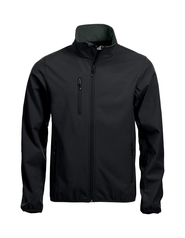 Clique Basic Softshell Jacket zwart s