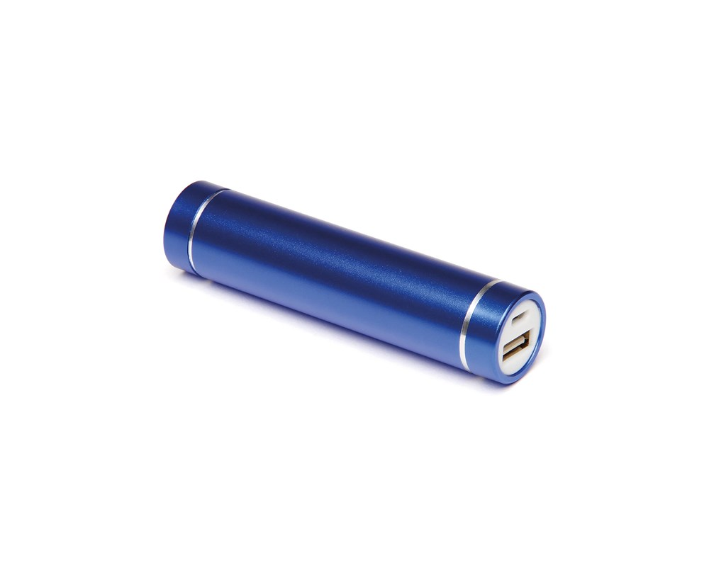 Cylinder Power Bank Paars