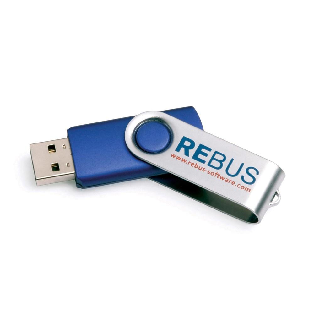 UK Stock Twister USB FlashDrive Groen