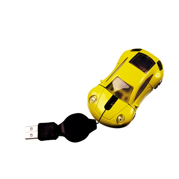 Mini Car Mouse Zwart