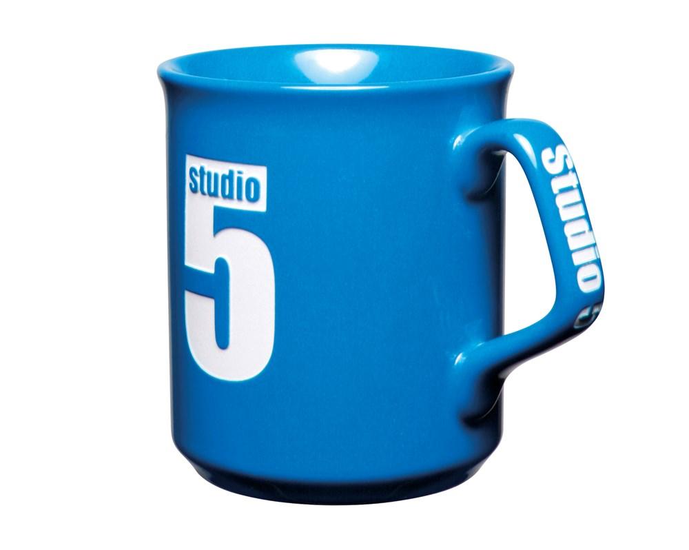 Sparta Etched Mug - Grijs