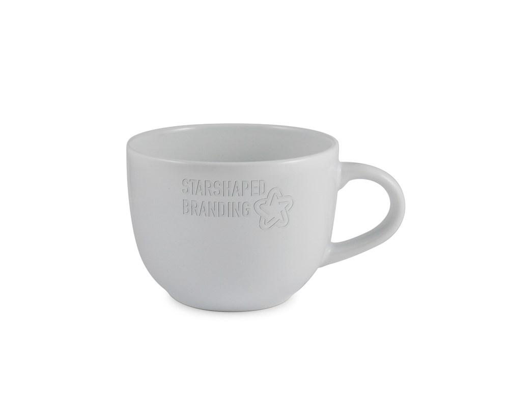 Cappuccino Etched Mug