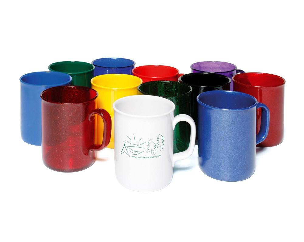 Spectrum Acrylic Mug Zwart