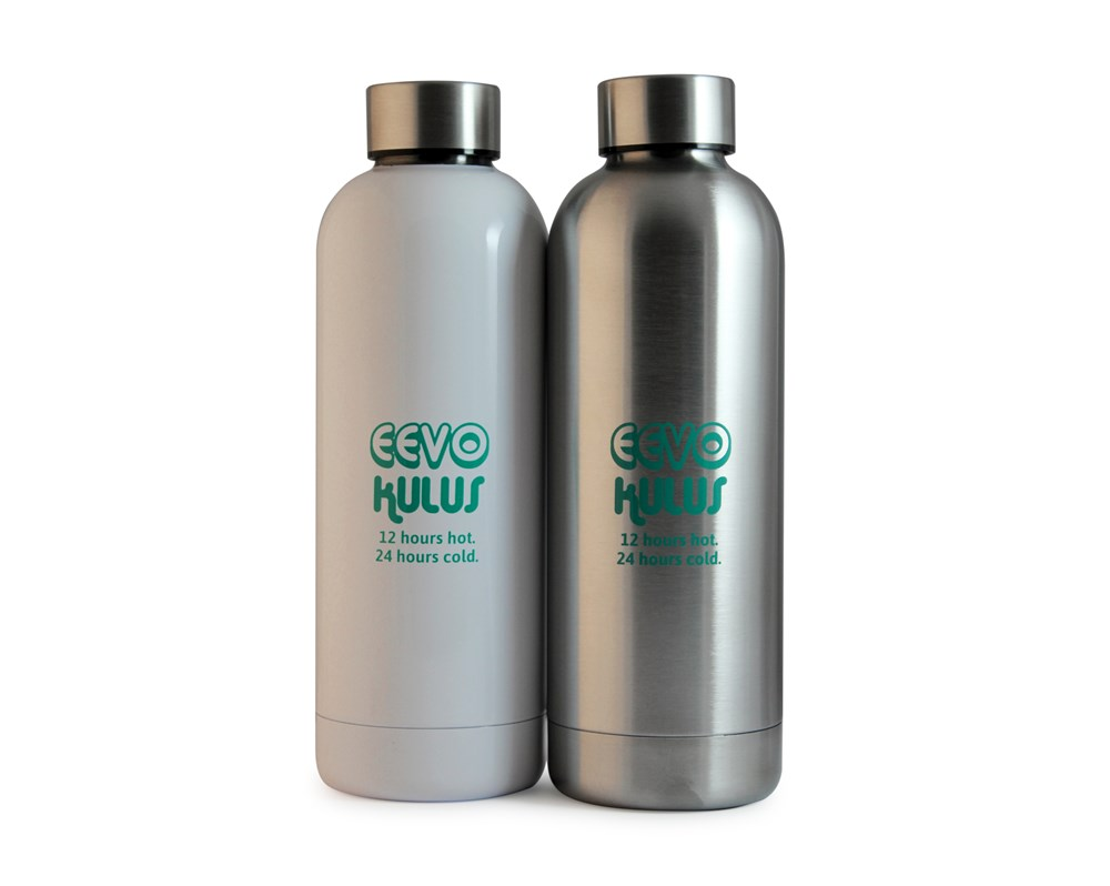 Eevo-Kulus Bottle Zilver