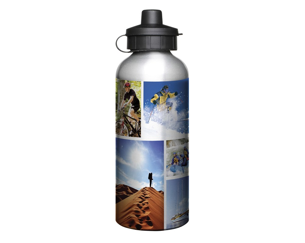 Aluminium 600ml Silver Drink Bottle