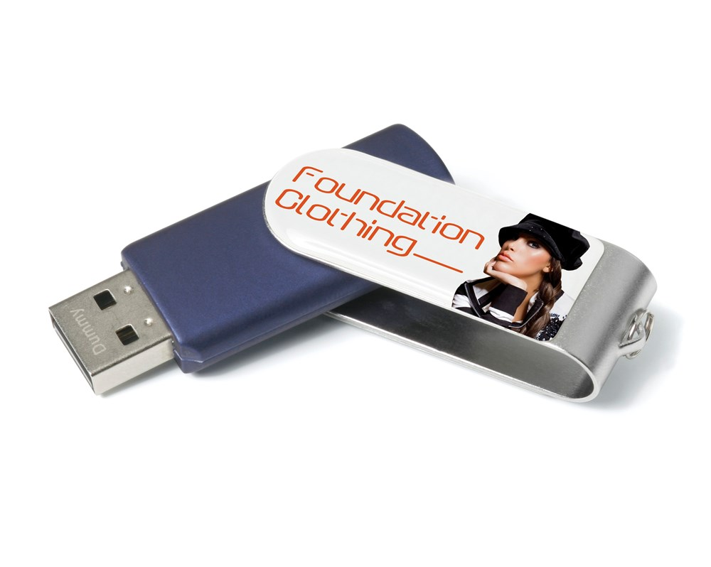 Twister Bubble USB FlashDrive Blauw