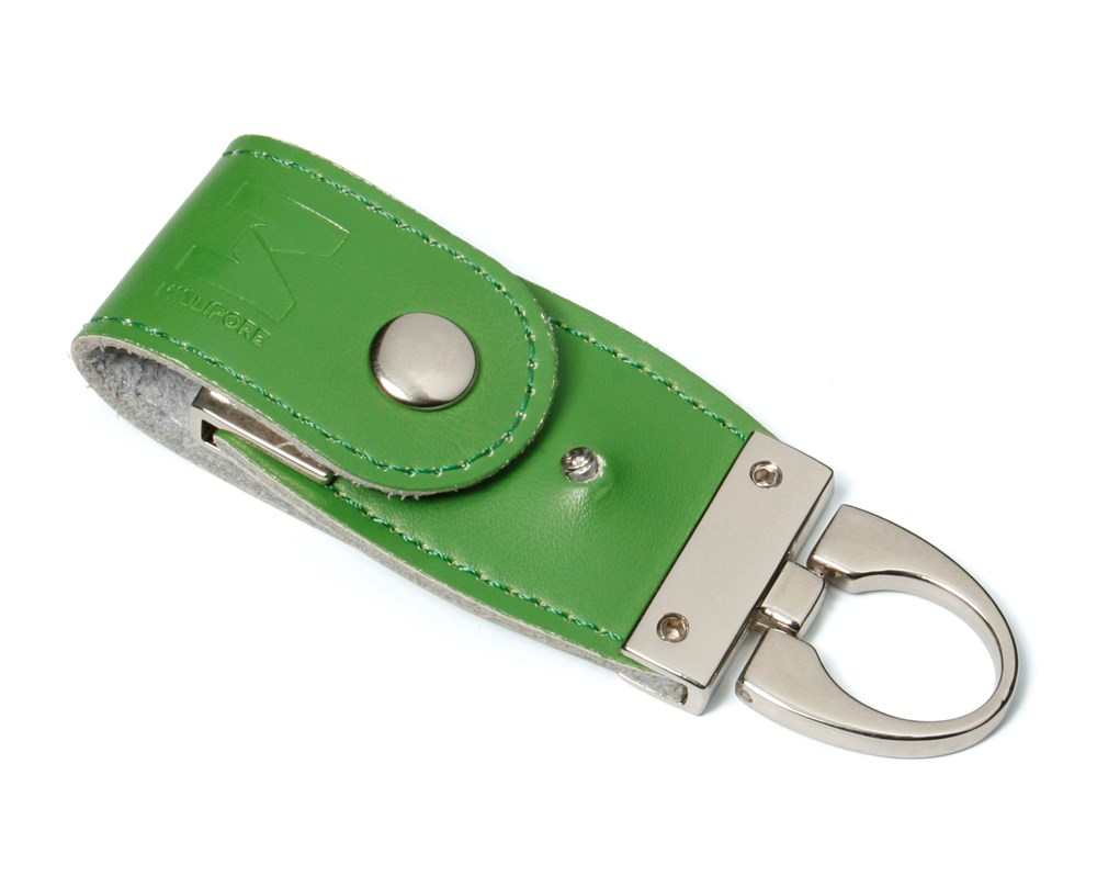 Leather 3 USB FlashDrive Zwart