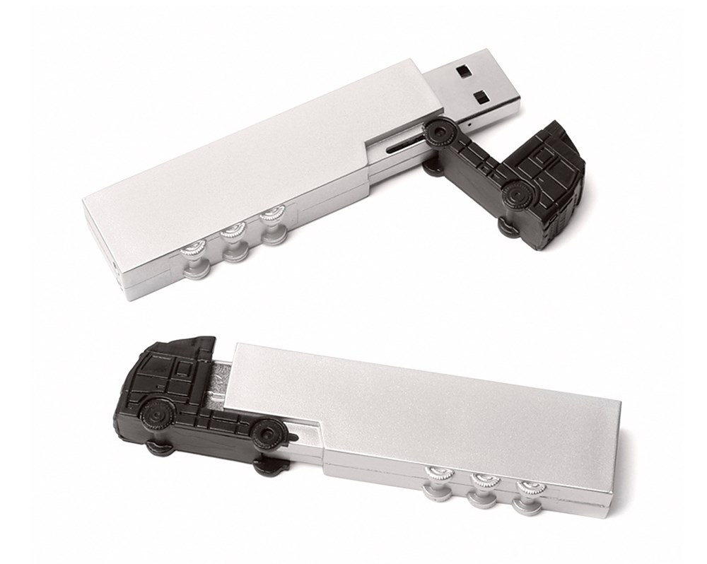 Lorry USB FlashDrive Zwart