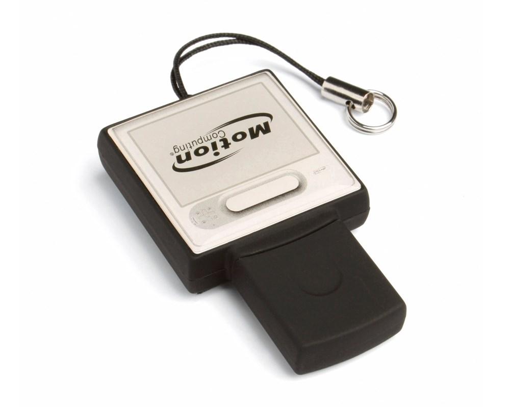 Epoxy Square USB FlashDrive Zilver